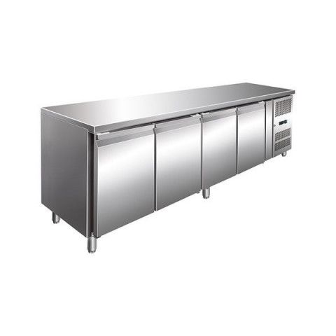 FED GN4100TN Tropicalised Four Door Under Bench Fridge- 2230mm
