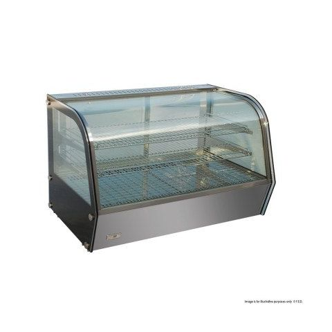 FED HTH120N  Heated Counter Top Display