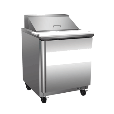 Exquisite ICC260H One Door Sandwich / Salad Preparation Chiller - 251 Litres