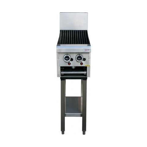 LKKCG3-2 2 Burner Gas Char Grill - 300mm