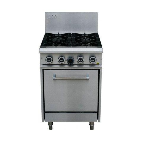 LKKOB4D+O 4 Gas Open Burner Cooktop + Static Oven