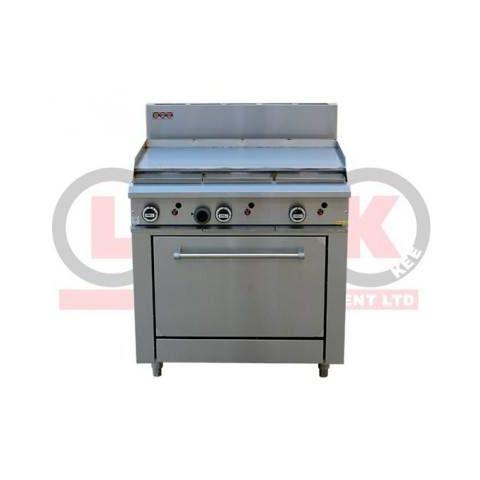 LKKOB6A+O 900mm Griddle Hotplate + Static Oven