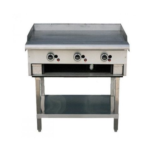LKKTG9 3 Burner Gas Teppan Griddle