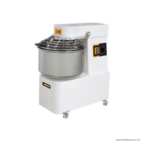 Baker Max SFM40 - 40 Litre Heavy Duty Spiral Mixer Italian Made - 20Kg Flour