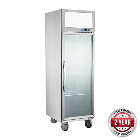 FED SUFG500 Upright 1 Glass Door Display Freezer 500L