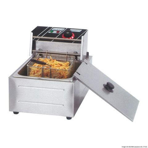 Electmax Single Tank Electric Fryer 2.5kw - TEF-81KW