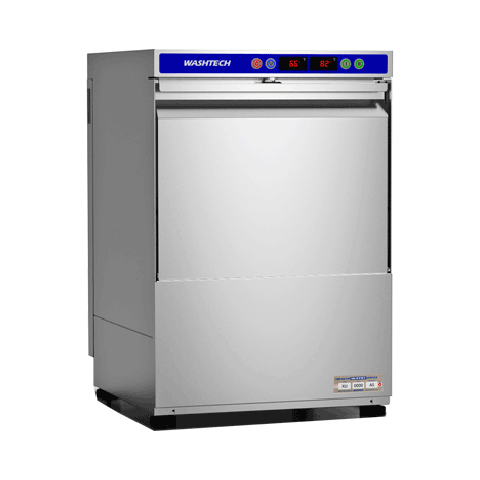 Washtech XU Economy Undercounter Dishwasher / Glasswasher - 500mm Rack